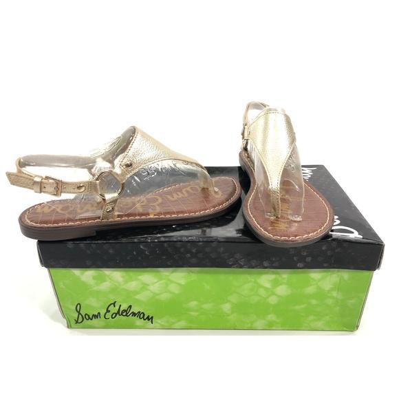 factory outlets best supplier factory outlets Sam Edelman Shoes | Womens Greta Jute Met Lea Flat Sandal | Poshmark